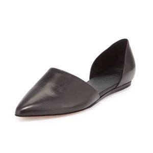 Vince Nina  Leather D'Orsay Flats